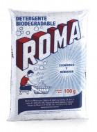 Roma detergente en polvo / Caja con 100 bolsas de 100g