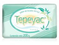 Tepeyac verde jabón de tocador de lujo / Caja con 30 piezas de 200g