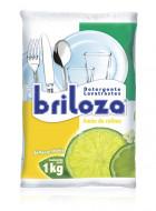 Briloza lavatrastes en polvo / Caja con 10 bolsas de 1 kg