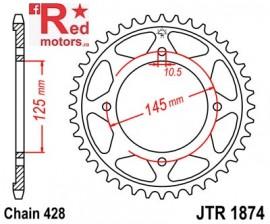 Foaie/pinion spate JTR1874.59 428 cu 59 de dinti pentru Yamaha