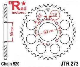 Foaie/pinion spate JTR273.42 520 cu 42 de dinti pentru Honda