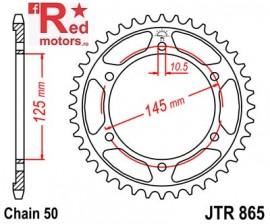 Foaie/pinion spate JTR865.44 530 cu 44 de dinti pentru Yamaha FZ 750, FZR 600, FZX 750