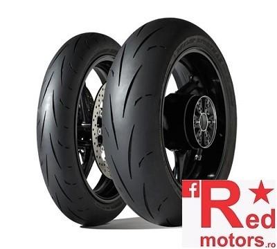 Set anvelope/cauciucuri moto Dunlop Gp Racer D211 120/70 R17 58W M+ 160/60 R17 69W