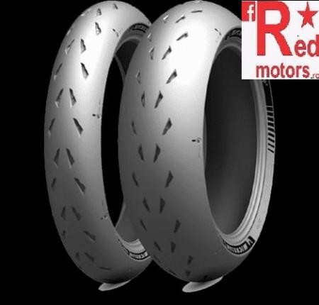 Set anvelope/cauciucuri moto Michelin Power CUP 2 120/70ZR17 58W + 180/55ZR17 73W