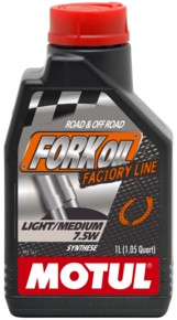 Poze Ulei furca Motul - Fork Oil Factory Line Light/Medium 7.5W