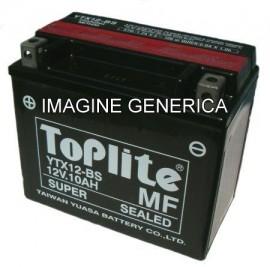 Acumulator moto TOPLITE YUASA - TTZ14S = YTZ14S (CU GEL, INCL. ACID)