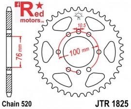 Foaie/pinion spate JTR1825.45 520 cu 45 de dinti pentru Suzuki DR 500, DR 750, GN 400, GSX-R 750, VL 250