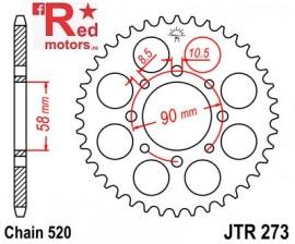 Foaie/pinion spate JTR273.44 520 cu 44 de dinti pentru Honda