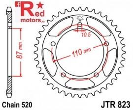 Foaie/pinion spate JTR823.46 520 cu 46 de dinti pentru Suzuki GS 500