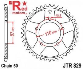 Foaie/pinion spate JTR829.44 530 cu 44 de dinti pentru Suzuki GSF 600