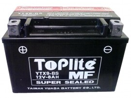 Acumulator motocicleta Toplite Yuasa YTX9-BS