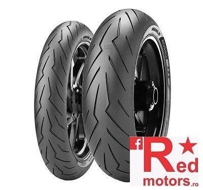 Anvelopa/cauciuc moto spate Pirelli DIABLO ROSSO 3 (78W) TL Rear 200/55R17 Z