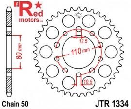 Foaie/pinion spate JTR1334.46 530 cu 46 de dinti pentru Honda CB 450, 750, 900, 1000, 1100, CBR 600