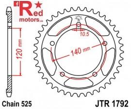 Foaie/pinion spate JTR1792.45 525 cu 45 de dinti pentru Kawasaki KLV 1000, Suzuki DL 650