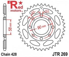 Foaie/pinion spate JTR269.41 428 cu 41 de dinti Daelim