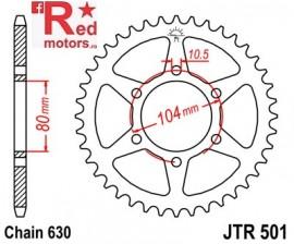 Foaie/pinion spate JTR501.39 630 cu 39 de dinti