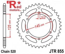 Foaie/pinion spate JTR855.46 520 cu 46 de dinti pentru Yamaha DT 250, MT-03 660, XJ 600