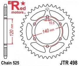 Foaie/pinion spate JTR498.39 525 cu 39 de dinti pentru Kawasaki W 650, ZR 750, ZX-6R 600