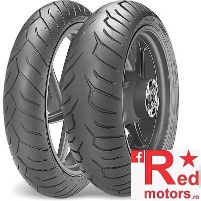 Set anvelope/cauciucuri moto Pirelli Diablo Strada 120/70 R17 58W + 180/55 R17 73W