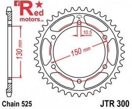 Foaie/pinion spate JTR300.39 525 cu 39 de dinti pentru Honda XL 600, XL 650