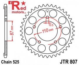Foaie/pinion spate JTR807.45 525 cu 45 de dinti pentru Suzuki GSF 400, GSF 650