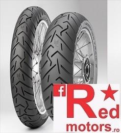 Set anvelope/cauciucuri moto Pirelli Scorpion Trail II 100/90 R19 58W + 130/80 R17 75W