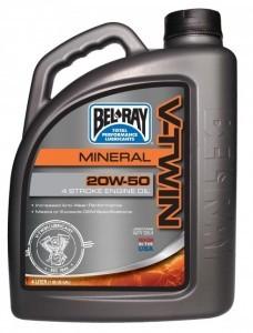 Poze Ulei mineral de motor Bel-Ray V-Twin Mineral Engine Oil 20W-50 4L