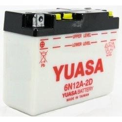 Acumulator moto TOPLITE YUASA - 6N12A-2D (CU INTR., NU INCL. ACID