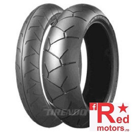 Anvelopa moto spate Bridgestone BT012 RJ (73W) TL Rear 180/55R17 W