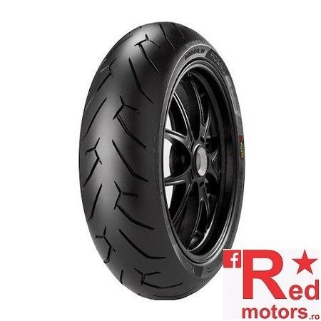 Anvelopa moto spate Pirelli DIABLO ROSSO 2 (75W) TL Rear 180/60R17 W