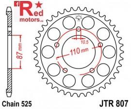 Foaie/pinion spate JTR807.46 525 cu 46 de dinti pentru Suzuki GSF 400, GSF 650