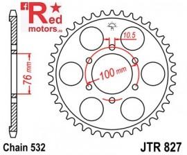 Foaie/pinion spate JTR827.52 532 cu 52 de dinti pentru Suzuki GSX 1100