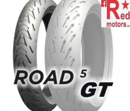 Set anvelope/cauciucuri moto Michelin Road 5 GT 120/70ZR17 58W + 180/55ZR17 73W