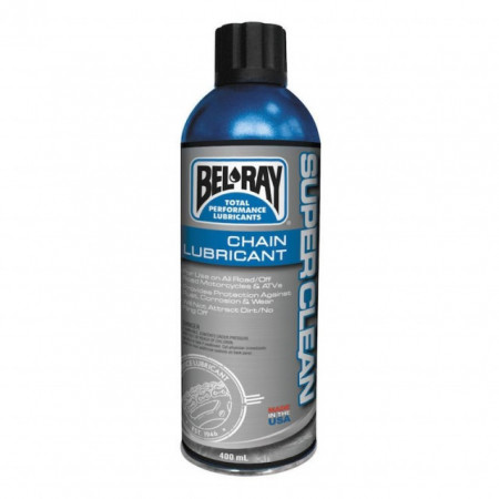 Spray de lant Bel-Ray Super Clean Chain Lube 400ml