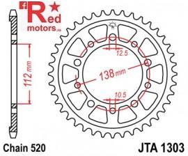 Foaie/pinion spate JTA1303.42 520 cu 42 de dinti pentru Honda CBR 600 F
