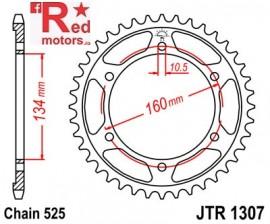 Foaie/pinion spate JTR1307.45 525 cu 45 de dinti pentru Honda CBR 600