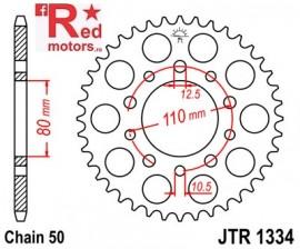 Foaie/pinion spate JTR1334.40 530 cu 40 de dinti pentru Honda CB 450, 750, 900, 1000, 1100, CBR 600