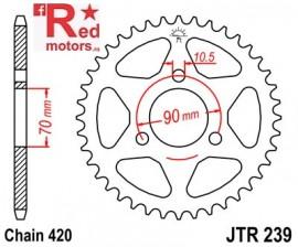 Foaie/pinion spate JTR239.38 420 cu 38 de dinti pentru Honda