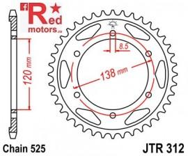 Foaie/pinion spate JTR312.40 525 cu 40 de dinti pentru Honda RVF 400, RVF 750