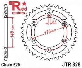 Foaie/pinion spate JTR828.42 520 cu 42 de dinti pentru Cagiva T4E 350, T4E 500, Suzuki DR 600, DR 650