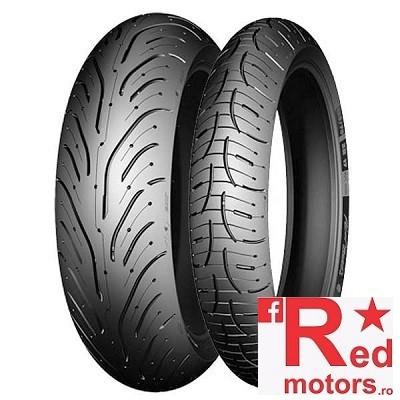 Set anvelope/cauciucuri moto Michelin Pilot Road 4 120/70 R17 58W + 180/55 R17 73W
