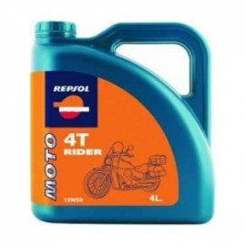 Poze Ulei Motor Repsol Moto Rider 4T 15W50 4l