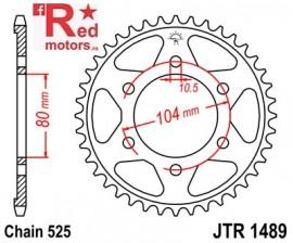 Foaie/pinion spate JTR1489.43 525 cu 43 de dinti pentru Kawasaki KLZ 1000, Z 1000