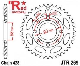 Foaie/pinion spate JTR269.47 428 cu 47 de dinti Daelim
