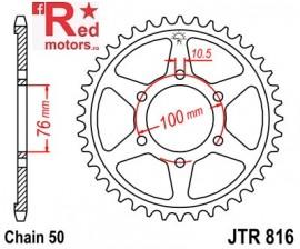 Foaie/pinion spate JTR816.38 530 cu 38 de dinti pentru Suzuki GR 650, GS 550, GSF 1200