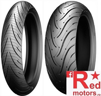 Set anvelope/cauciucuri moto Michelin Pilot Road 3 120/70 R17 58W + 150/70 R17 69W