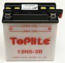Acumulator moto TOPLITE YUASA - 12N5-3B (CU INTR., NU INCL. ACID)
