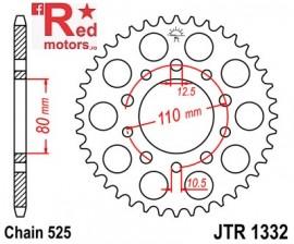 Foaie/pinion spate JTR1332.36 525 cu 36 de dinti pentru Honda CB 450, 500