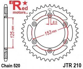 Foaie/pinion spate JTR210.43 520 cu 43 de dinti pentru HM-Moto