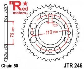Foaie/pinion spate JTR246.36 530 cu 36 de dinti Honda CB 250, CB 400